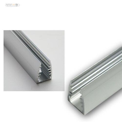 1m LED Alu-vitre-profil pour saphir éclairage//vitre éclairage