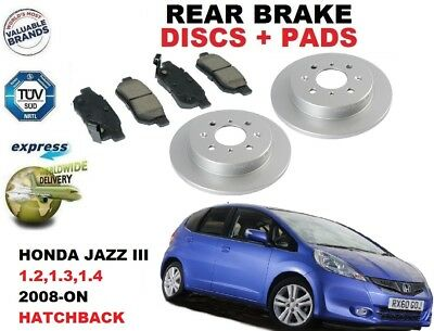 FOR HONDA JAZZ 1.3 1.4 NEW MINTEX FRONT REAR BRAKE DISCS BRAKE PADS 2004-2009