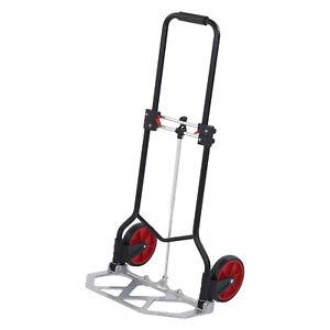 Sackkarre-Transportkarre-Stapelkarre-Handkarre-Karre-klappbar-80kg-Traglast