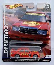 Hot Wheels Mercedes Benz 190E 2.5 Momo Offen Track FPY86-956H 1//64