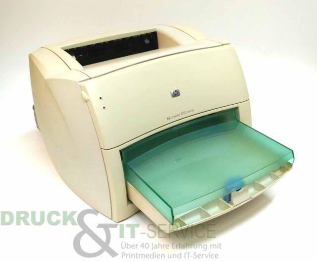 HP LaserJet 1000 Q1342A Laserdrucker s/w gebraucht