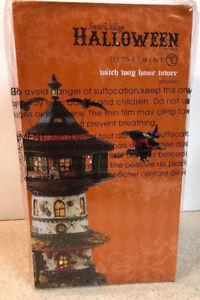 DEPT 56 Halloween MY GARDEN LUMINARIES NEW Lighted Pathway Pumpkin Bag Lit