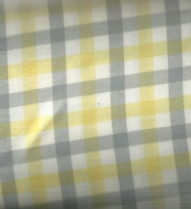 Brooklyn-yellow-gray-plaid-brushed-Kaufman-flannel-fabric