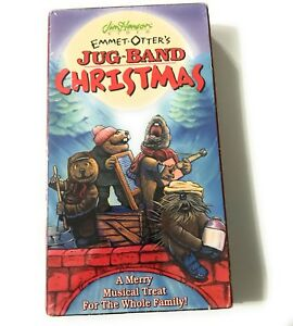 Emmet Otters Jug Band Christmas Book.Details About Vintage Jim Henson S Emmet Otter S Jug Band Christmas Vhs Video Cassette 8369
