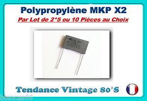 LOT-AU-CHOIX-DE-1-2-OU-5-CONDENSATEURS-MKP-X2-ARCOTRONIC