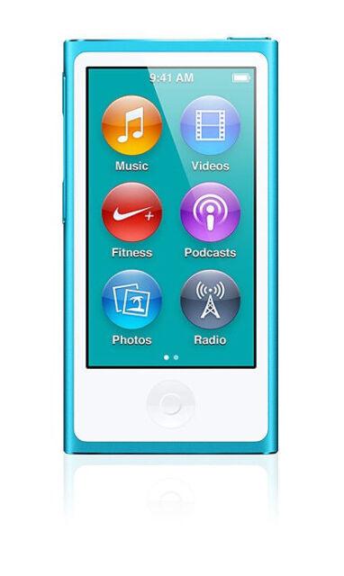Apple Ipod Nano 7th Generation Blue 16 Gb For Sale Online Ebay