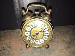 Vintage Normandy Niemen Table Desk Alarm Clock Double Bell ...