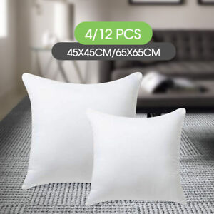 45x45-65x65cm-Memory-Resilient-Cushion-Pillow-Inserts-Polyester-Filling-4-12-pcs