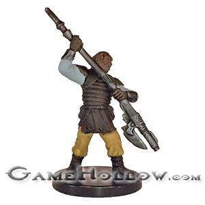 Star Wars Bounty Hunters 50//60 Weequay Leader Miniature U