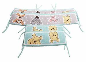 Disney Winnie The Pooh Crib 4 Piece Crib Bumper Set Nouveau