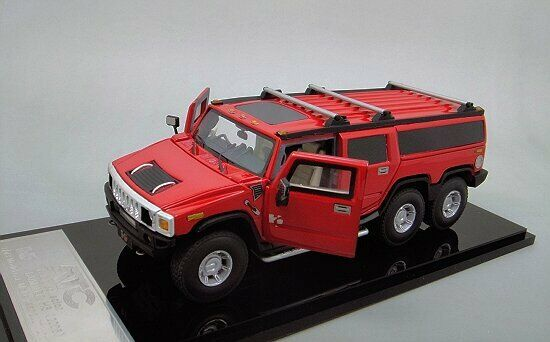 1 43  Hummer H6 Limousine  (Red)