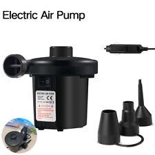 NEU Auto 12v Netzteil Elektrische Luftpumpe Volumen Vakuum Gebläse Matratze DE