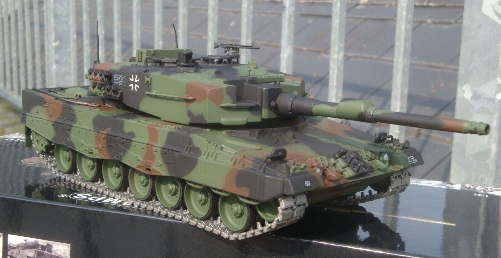Minichamps 350011001, Kampfpanzer Leopard 2A4, marrónschweig, Alemania 1986, 1 35