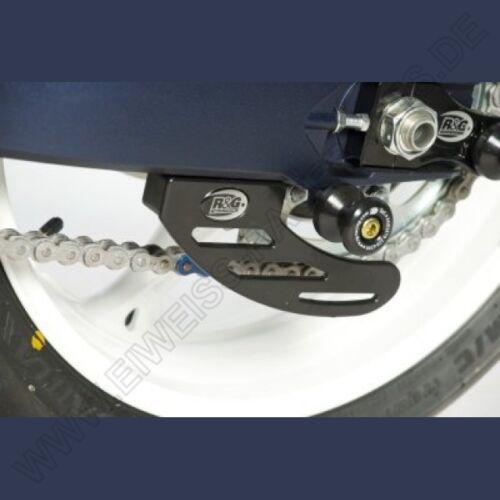 NEW R&G Road Racing Kettenfinne Suzuki GSX-R 600 / 750 2011- Toe Chain Guard