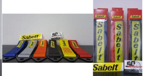 Sabelt 1 Anhängerkupplung Tuning Tuch Auto 1 Paar Abdeckung Gürtel
