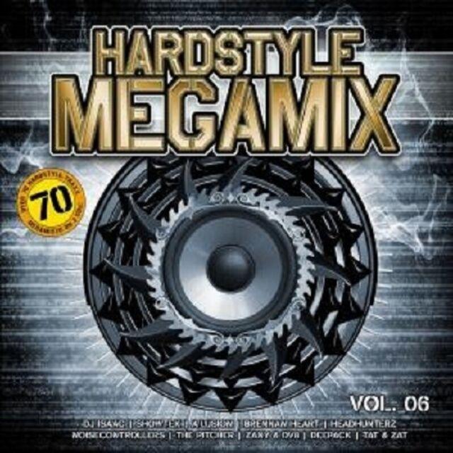 HARDSTYLE MEGAMIX VOL. 6 2 CD NEU