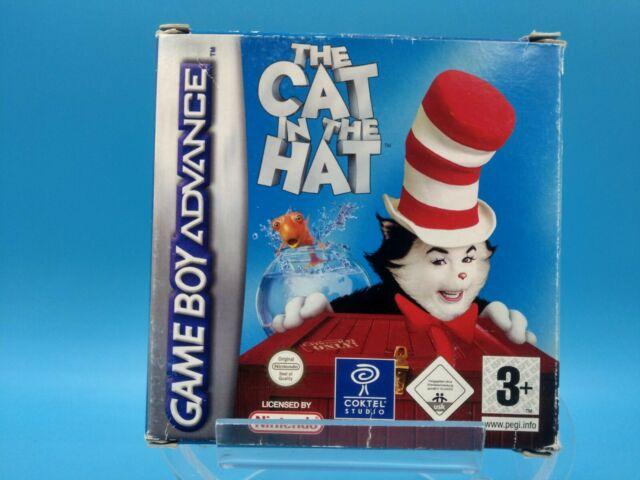 jeu video nintendo game boy advance complet BE EUR the cat in the hat