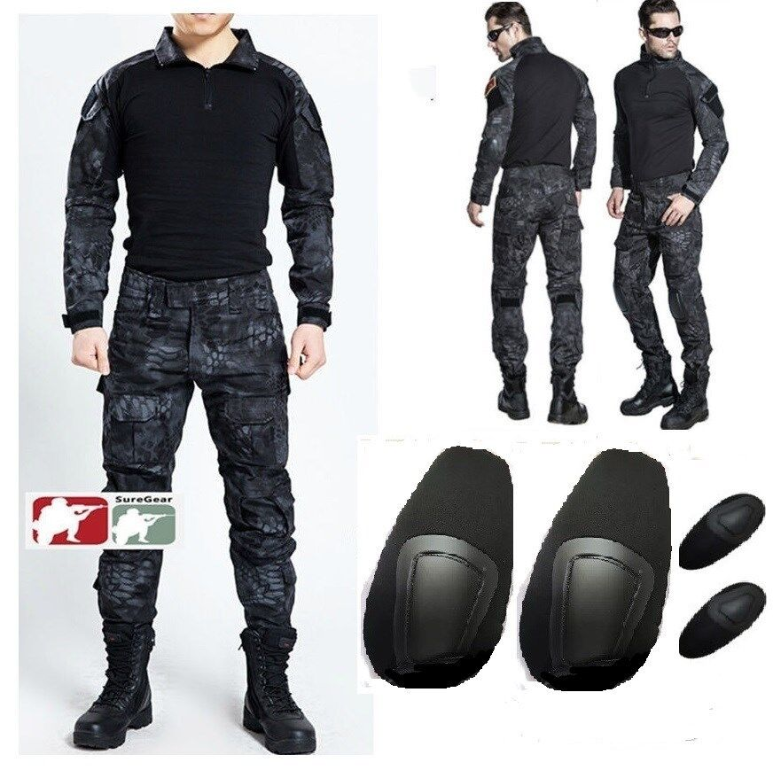 TYPHON Gen3 G3 Men Combat Suit Shirt Pants Tactical Airsoft Military Uniform  UK