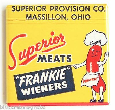 No Skins On These Wieners Funny Vintage Ad Gag Gift Fridge Magnet Free Shipping