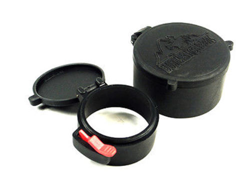 Hunting 58mm&42mm Dustproof Scope Cover Lens Covers Caps Fit For50mm Rifle Scope