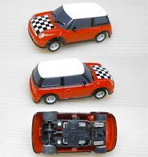 2007 Micro Scalextric MINI COOPER HO Slot Car UK Checkr