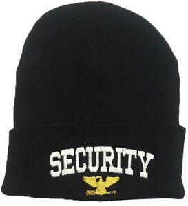 SECURITY WINTER BEANIE HAT