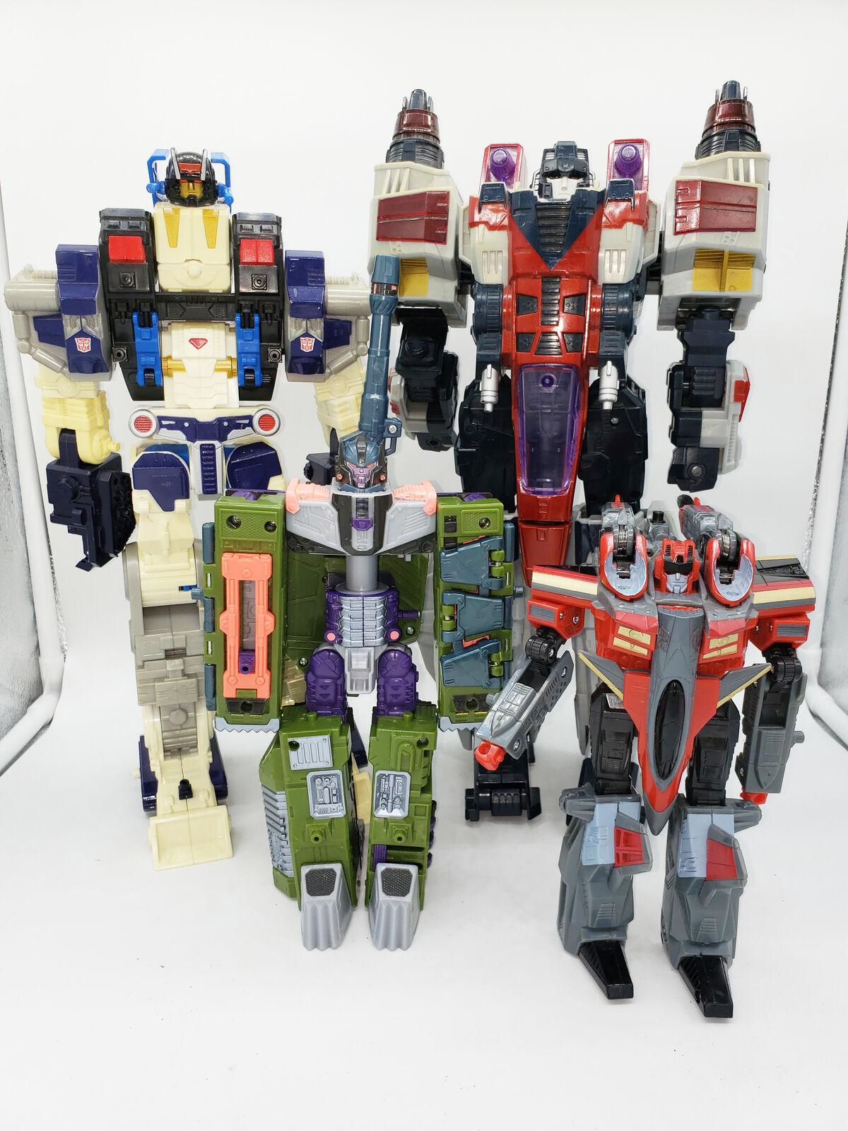 Transformers Lot of 4 Takara Armada Starscream Megatron 2001 2004 2005