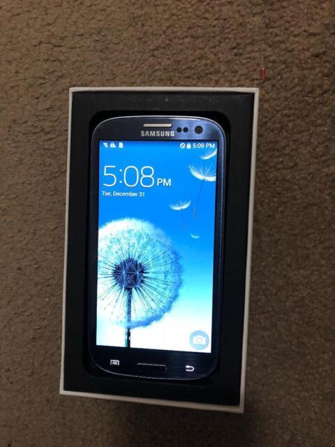 Samsung Galaxy S III SGH-I747M - 16GB - Pebble Blue (Unlocked) Smartphone