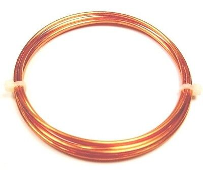 20 Gauge Half Round Half Hard Copper Wire 25FT