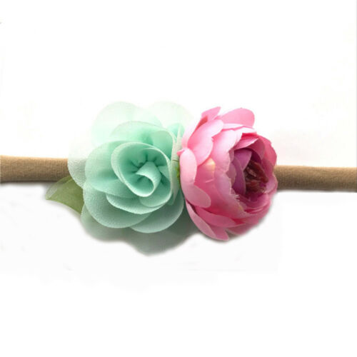 3pcs//set Toddler Girls Baby Flower Floral Headband Photo Props Hair Accessories