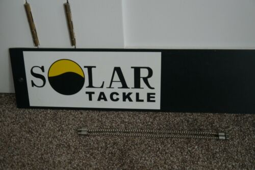 "Solaire Inoxydable Chaînes 9/"" X2 utilisé Carp Coarse Fishing Tackle Gear Setup"