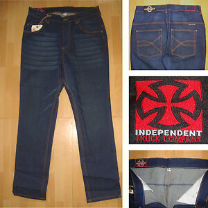 Independent-Hit-stoppeur-333-86-4cm-taille-skateboard-jeans-indigo-jeans