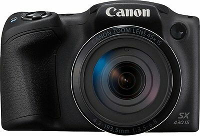 Canon Powershot SX430 20.0 MP with 45x Optical Zoom with 90x ZoomPlus