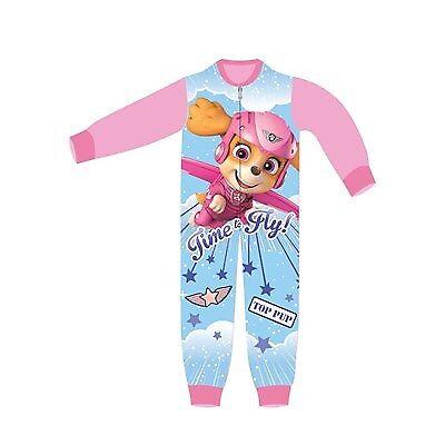 Ragazzi Ragazze in Pile Dormire Suit All in One Pigiama Caldo Bambini Bambini Carattere