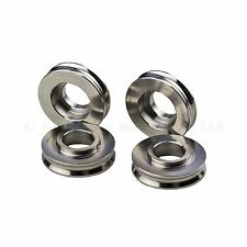 5mm Gold Titanium Spacers for Radial Brake Calipers OD 24mm One Recess
