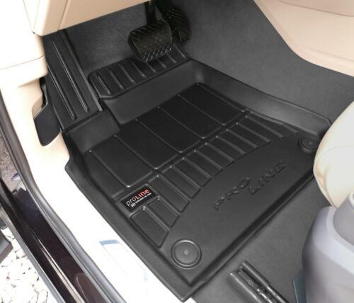 4 Pièces Paillasson 3d TPE pour VW Touareg III Année AB 2018