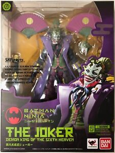 S-H-Figuarts-The-Joker-Demon-King-Of-The-Sixth-Heaven-Ninja-Batman-Bandai-Figure