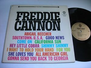 Freddie-Cannon-Self-Titled-1964-Stereo-LP-VG