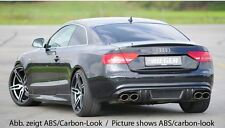 Rieger Heckeinsatz Doppelendrohr li/ re für Audi A5 B8 Coupe/ Cabrio S-Line/ S5