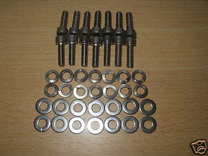 Cologne 2.8  V6 Stainless Special Rocker Washer /& Hex Bolts Capri Sierra Cortina