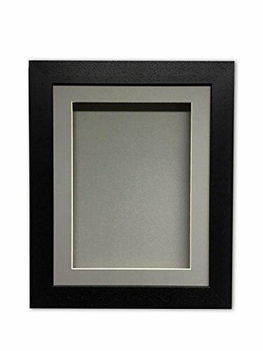 """object 3D 1"""" deep memory box picture for medal casts grey mount memorabilia"""