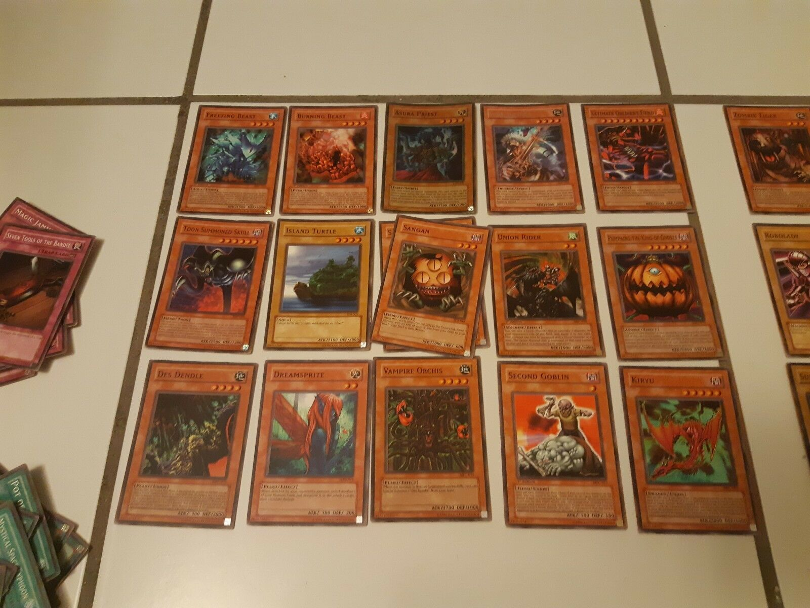 YuGiOh Card Lot over 100. Ultra Rare, Rare, Limited, 1st edition, included.