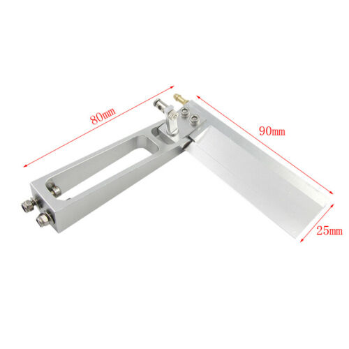 CNC Low Resistance 90mm RC Boat  MONO Yacht Water Pickup Suction Steering Rudder