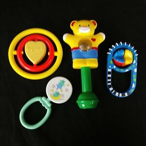 Vintage Baby Rattle 1980s New