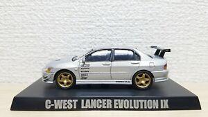 Mitsubishi EVO 1//64 Lancer Evolution IX Performance Racing Diecast Toy Model car