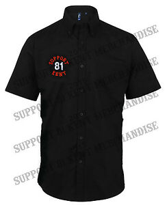 SUPPORT-81-KENT-HELLS-ANGELS-ENGLAND-Work-Shirt-Embroidered-BIG-RED-MACHINE