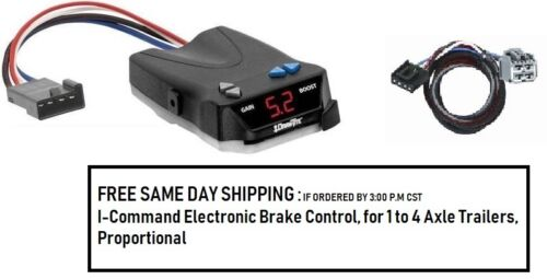 5535 Draw Tite Brake control with Wiring Harness 3045 FOR 2011-2020 Dodge//Jeep