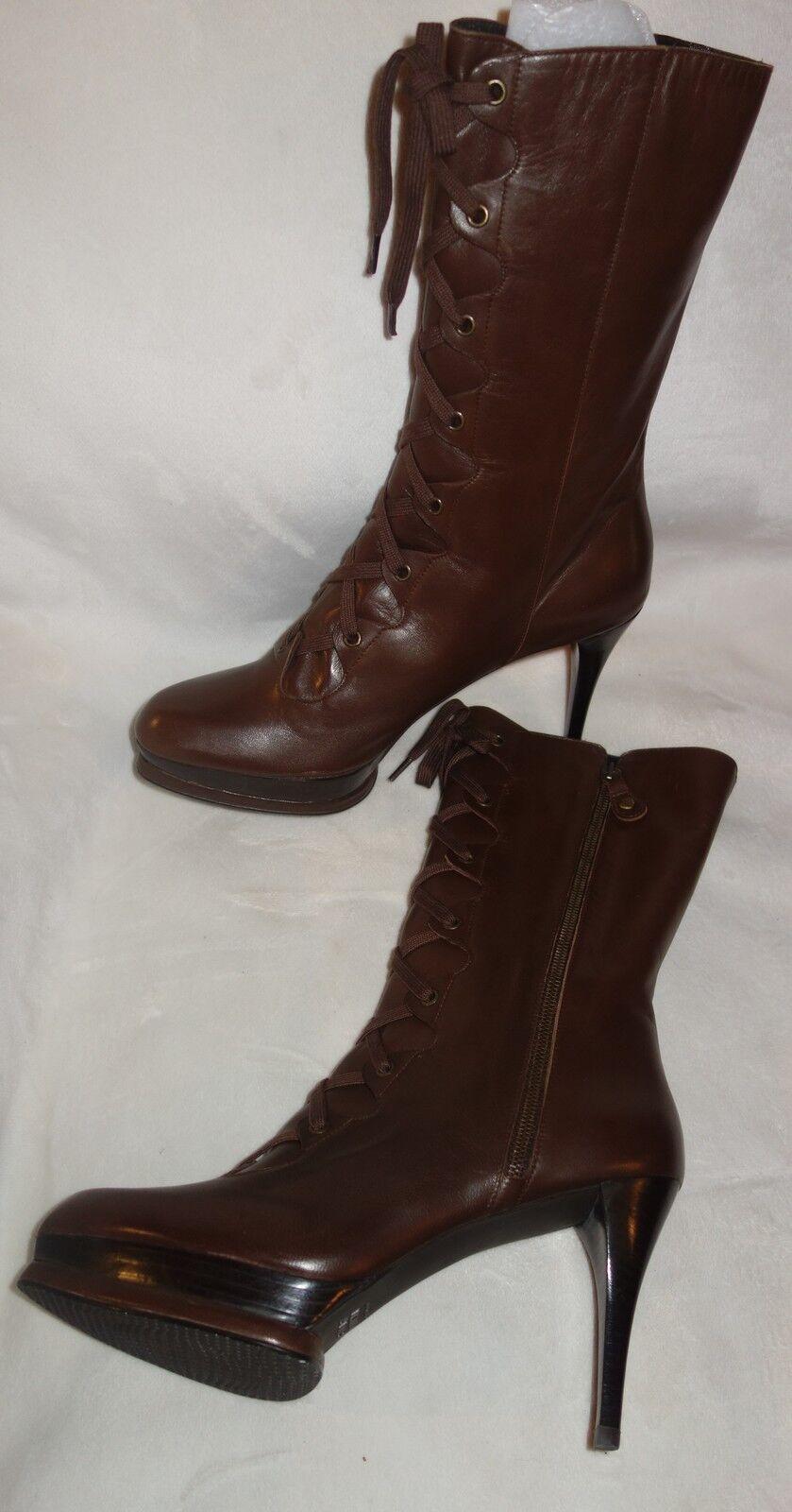 stuart weitzman  oiled nappa boots Shoes sz 41 new