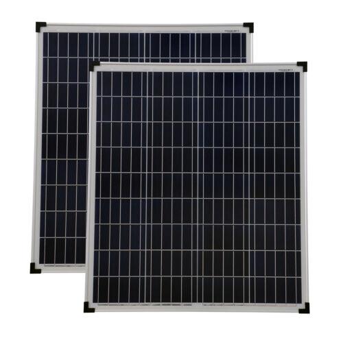 Module solaire 2 pièces 80 watts poly panneau solaire module solaire 80 w NEUF tüv certificat