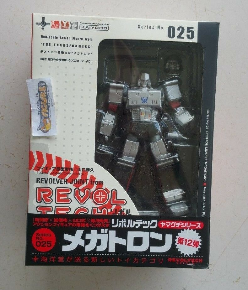 TransFormers Revoltech Series 025, G1 MEGATRON action figure figure figure by KAIYODO, New 426e53